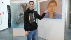 Expositie Roel de Vries in gemeentehuis in Damwâld