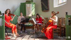Strijkkwartet Regina Forte in St. Vituskerk te Wetsens