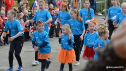 Swingende opening Koningsspelen Prins Bernhardschool