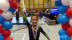 Sophie Beintema wint zilver op NK turnen