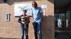 Afscheid Johanna de Vries bij werk- leerbedrijf NEF