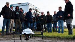 Weidevogeldrone voor Friese vogelwachters