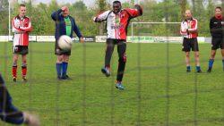 Friese Boys 45+ na strafschoppen onderuit tegen Broekster Walden.