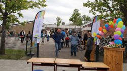 Fancy Fair en sponsorloop CBS Pr. Bernhardschool in Kollum