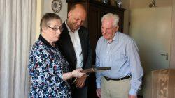 Echtpaar Aartsma uit Dokkum 60 jaar getrouwd