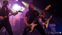 Angelic Forces in release show heavy metal band Steel Shock