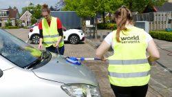 Auto wassen voor het goede doel