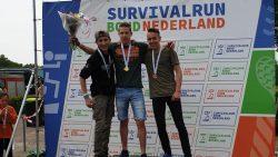 Jarno Visser Nederlands kampioen survivalrun