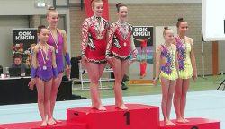 Fries kampioen turnen en Acro goud voor Turnlust