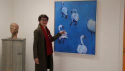 Expositie schilderijen Janine van Zeeland