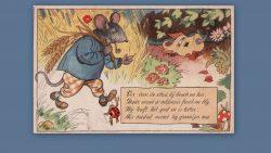 Ver van de stad bij bosch en hei, daar woont de veldmuis..