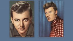 Bobby Darin en Johnny Hallyday