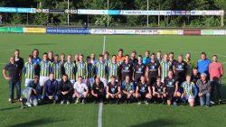Afscheid trainer Henk Konings en drie spelers van Be Quick Dokkum