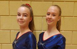 GVV Turnsters Fenna Peterson en Marianne Bosma