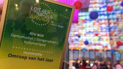 RTV NOF bij top drie lokale omroepen in Nederland
