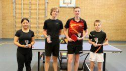 Clubkampioenschappen tafeltennis in Kollum