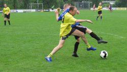 Jan-Aldert Brandsma in een duel