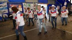 De Country Line Dancers in actie