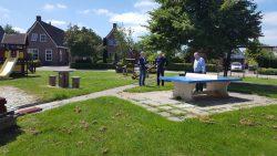 Wethouder Jouke Douwe de Vries op bezoek in Triemen