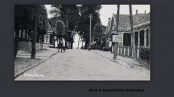 De Dorpstraat in Hantum
