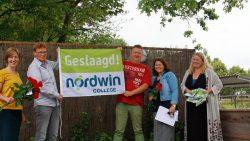92,7% geslaagd op Nordwin College Buitenpost.