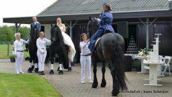 Droomhuwelijk te paard wordt werkelijkheid