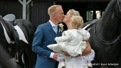Meer foto's van dit bijzondere huwelijk op www.rtvnof.nl