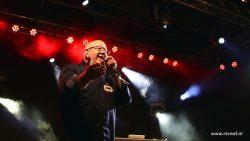 Henk Wijngaard bij Mega Vrije Piraten Zomerfestival