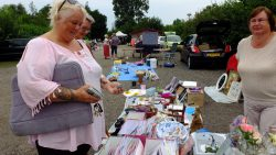 Braderie en rommelmarkt op camping Westergeest