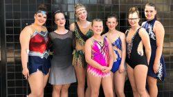 Rhythmgirls uit Dokkum opnieuw succesvol