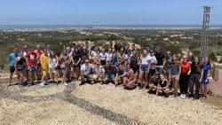 Lauwers College leerlingen en begeleiders in Marokko