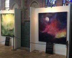 """Expositie """"De Schepping""""  in de RK-kerk"""
