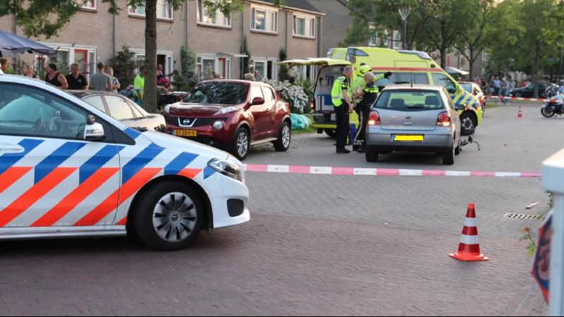 Ongeval op de Ljukstrjitte in De Westereen