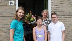 Steuntje in de rug voor Carina van Kammen en haar gezin