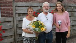 Bedankje voor Kees en Marie van der Zwaag