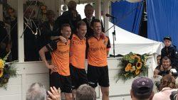 Partuur van der Bos verliezend finalist 166ste PC Franeker
