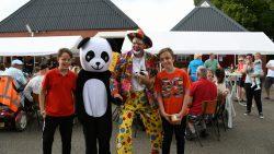 Clown Marco. Kijk voor meer foto's op www.rtvnof.nl