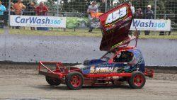 Friezen op het podium NK Stockcar F1 in Sint Maarten