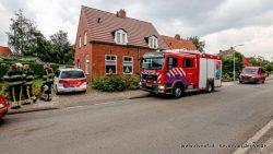 Politie onderzoekt brand in woning Driezum