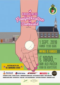 KNKB Hoofdklassepartij voor dames in Damwâld