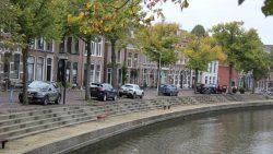 Rondom het Kleindiep in Dokkum binnenkort autovrij?