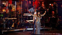 Ellen ten Damme zong onder andere Chansons