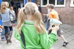 Inzamelactie door scholen voor Wecycle