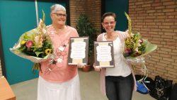 Gerda en Elly parel en  en zilveren jubileum Sjong de Heare