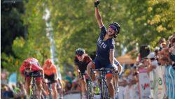Anouska Koster wint vierde rit Ardeche
