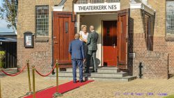 Commissaris der Koning brengt werkbezoek aan gemeente Noardeast-Fryslân