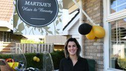 Martsje Humphries-Faber opent haar eigen salon