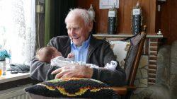 Achterkleinkind van 109 jarige Eelke Bakker geboren