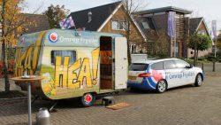 HEA!-caravan gespot in Broeksterwâld