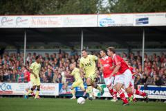 Foto van de wedstrijd Harkemase Boys-Feyenoord